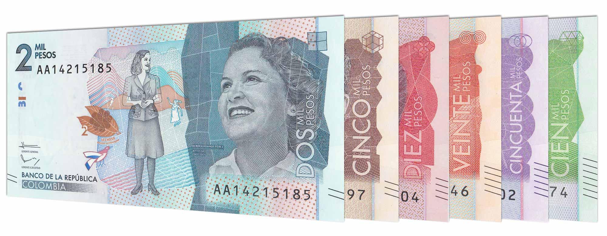 Colombian Pesos Online Cop Home