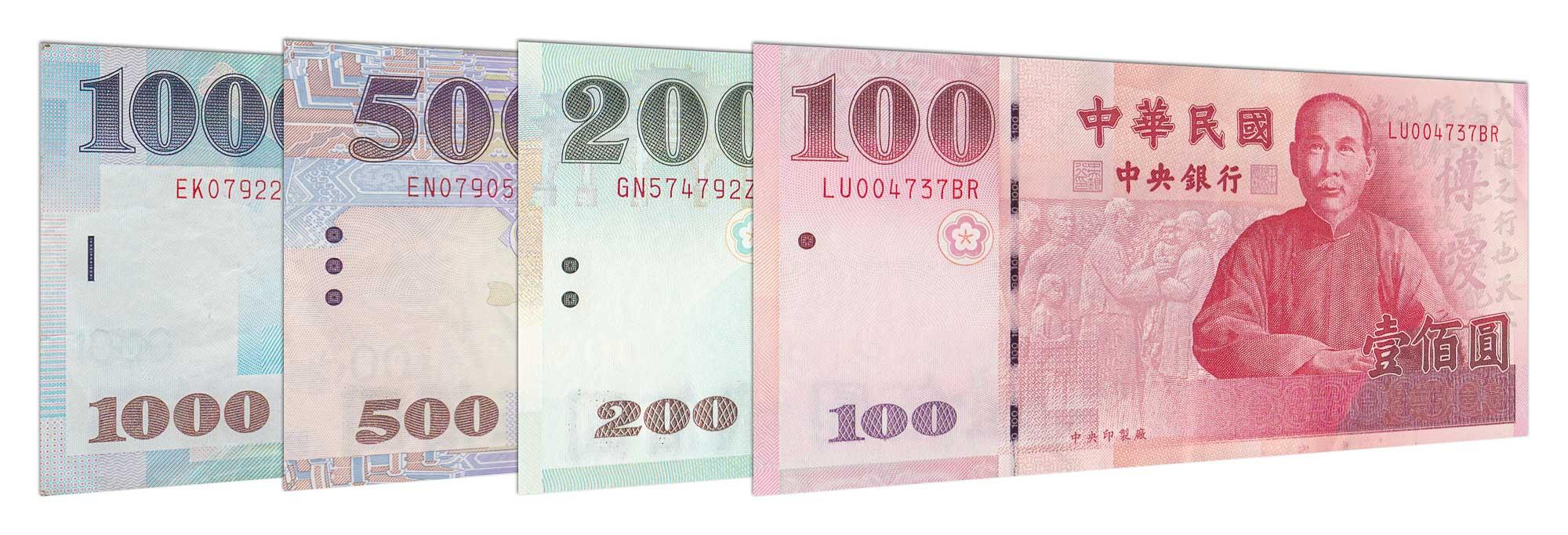 New Taiwan Dollars Online Twd