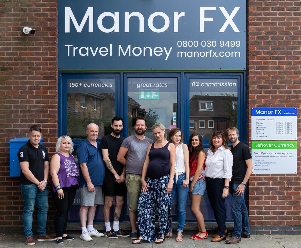 Manor FX team picture