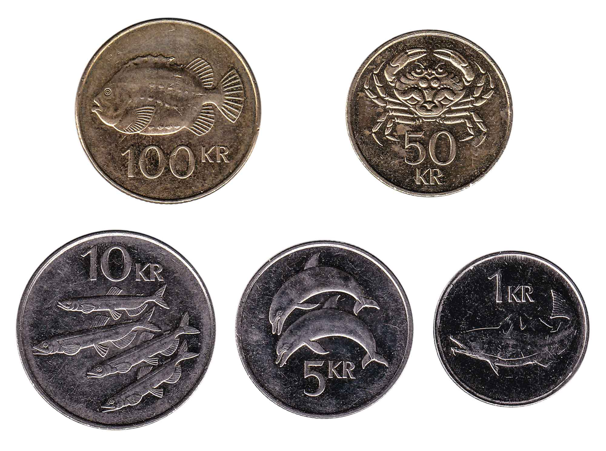Icelandic krona coins