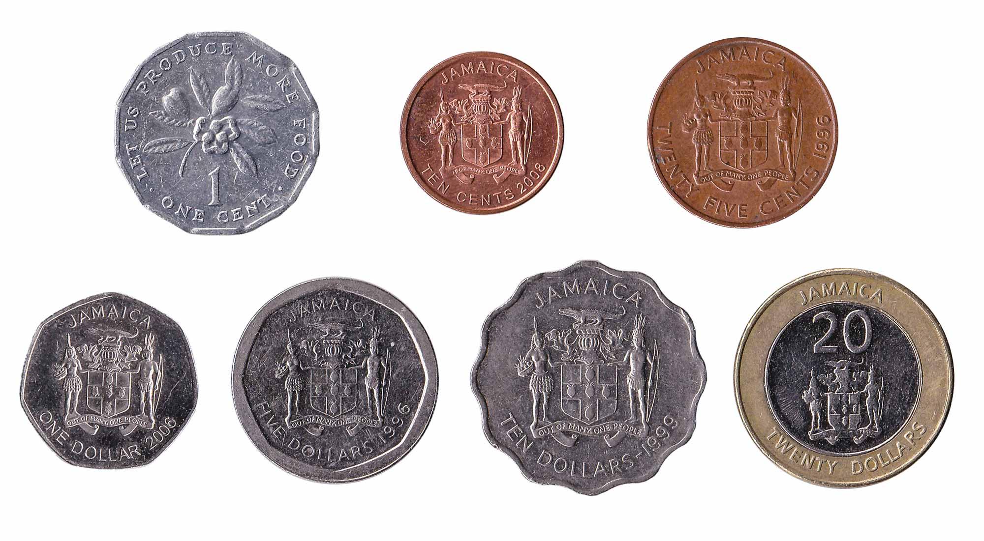 Jamaican dollar coins