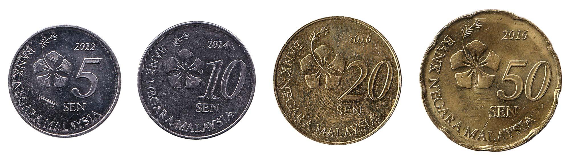 Malaysian ringgit coins