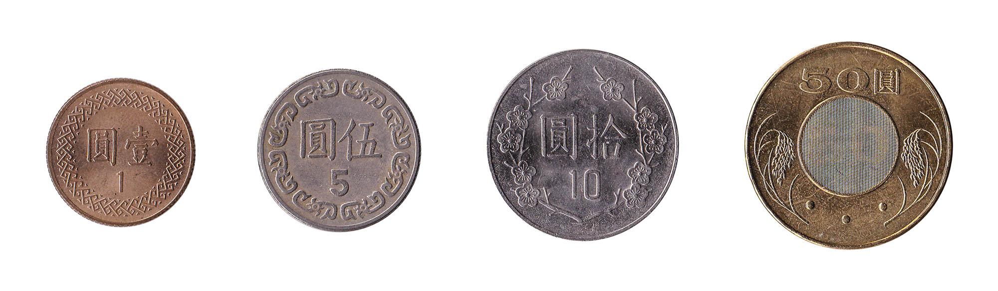 New Taiwan dollar coins