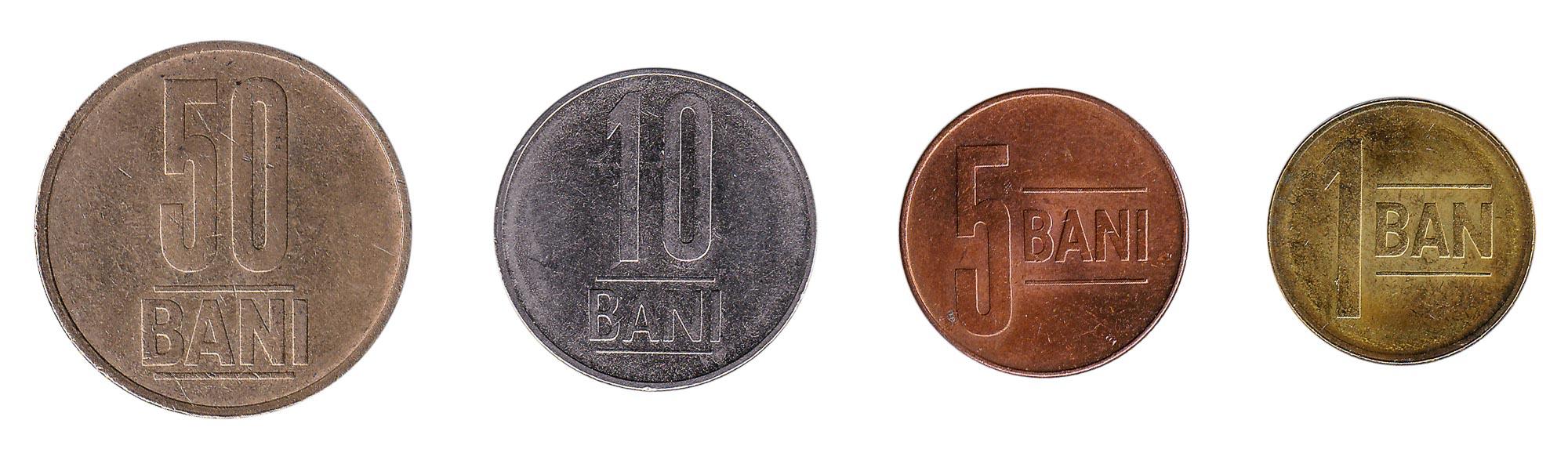 Romanian leu coins