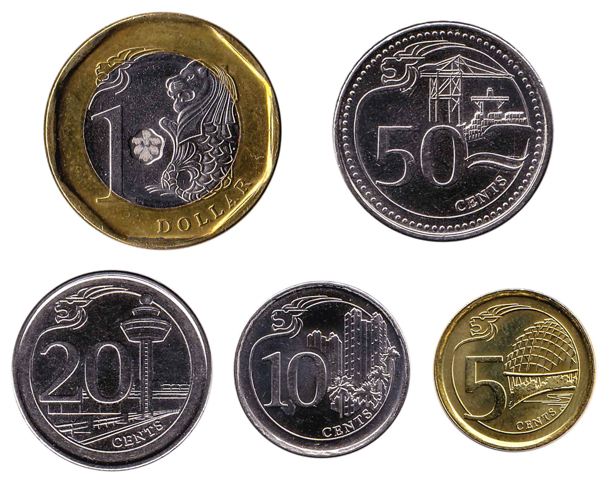 Singapore dollar coins