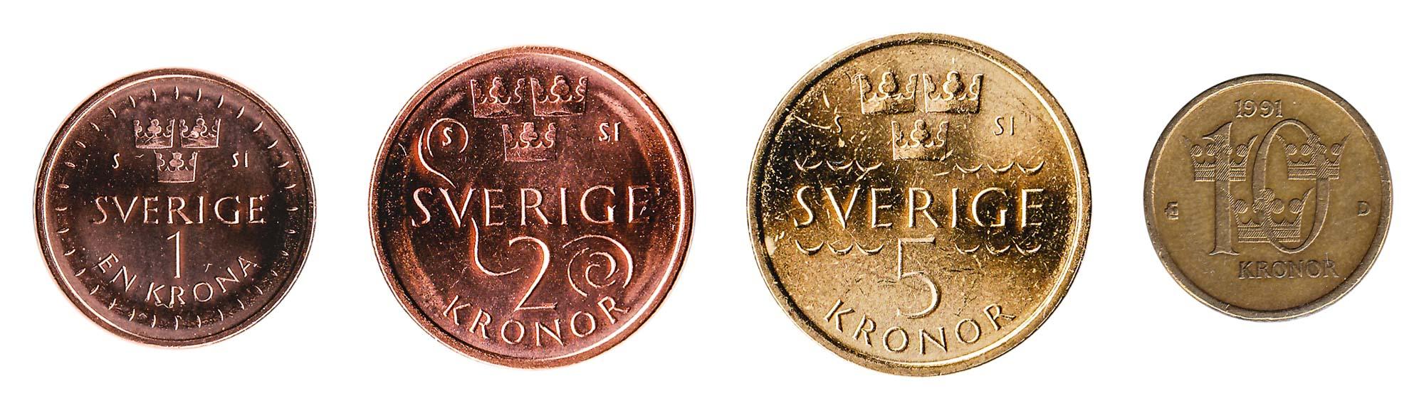 Swedish krona coins