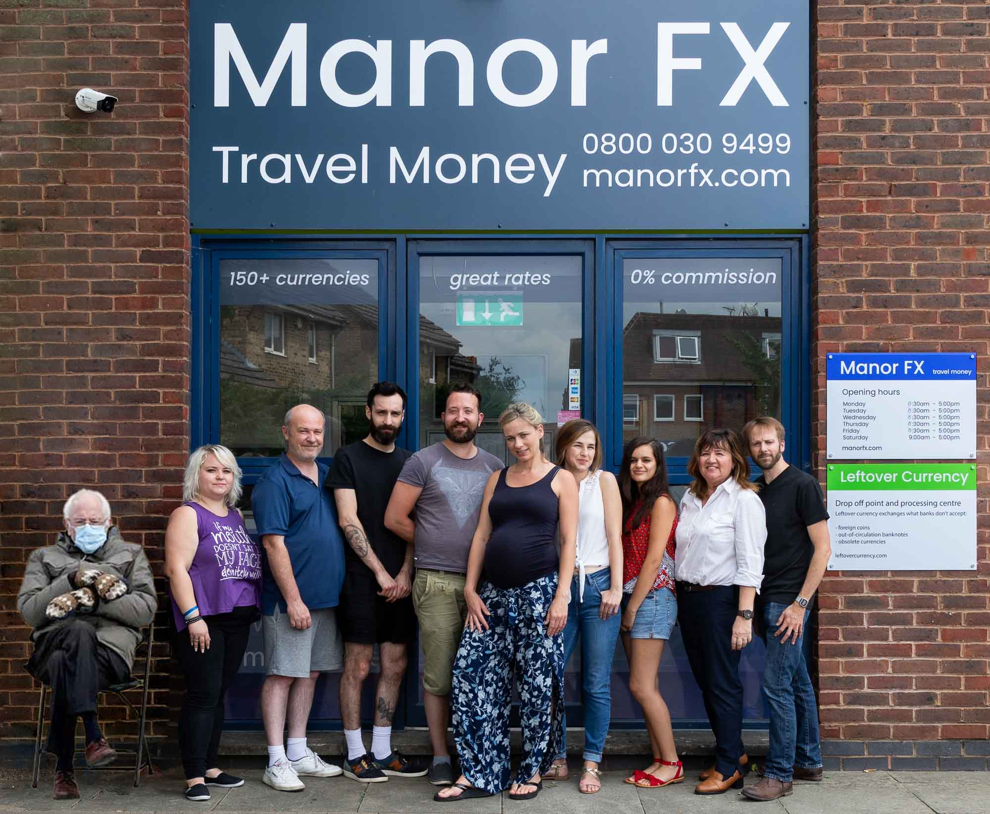 Manor FX team picture